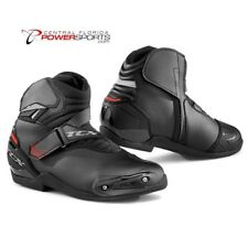 New MTA TCX Roadster 2 Black Motorcycle, Street Bike Riding Boots Multiple Sizes
