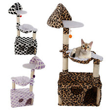 "New 47"" Cat Tree Tower Condo Scratching Post Pet Kitty Play House High Quality"