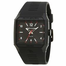 Rip Curl Rifles Analogue Mens Watch - Black One Size
