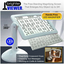 NEW LED Magnifier Screen Magnifier With Light In White Magnifier