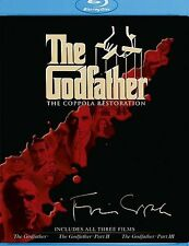 The Godfather Trilogy Collection The Coppola Restoration Blu-ray