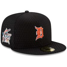 New Era Detroit Tigers Black 2017 Home Run Derby Side Patch 59FIFTY Fitted Hat
