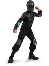 Child GI Joe Retaliation Snake Eyes Ninja Costume