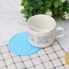 Colorful Snowflake Silicone Coaster Tea Cup Mat Heat Insulation Mat Table Decor