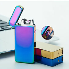 USB Electric Dual Arc Lighter Flameless Rechargeable Windproof Plasma lighters