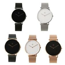 Xiaomi I8 Men Women Quartz Wristwatch 316L Stainless Steel Leather Strap W7K3