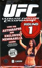 UFC 2009 Round 1 Trading Card Pack