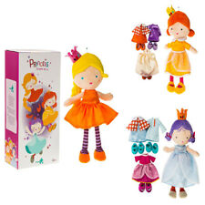 Kids Plush Dress Up Princess Costume Toy Development Baby Play Role Puppet Dolls