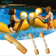 AD0B 4Pcs Water Sport Inflatable Bumper Game-Swimming Pool Float Ride On Row Toy
