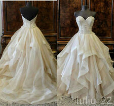 Organza Quinceanera Dresses Sweetheart Ball Gown Prom Party Sweet 15 16 Dresses