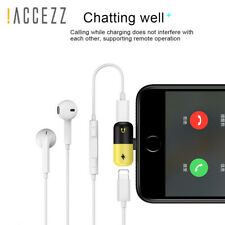 Apple iPhone Headphone Adapter Jack Lightning to 3.5mm Charge Cord Dongle IOS