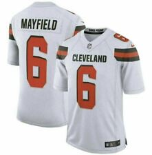 Baker Mayfield #6 Cleveland Browns Men's Jersey Authentic stitched Color White