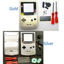 Gold Silver For Nintendo GameBoy Color Replacement Housing Shell For GBC