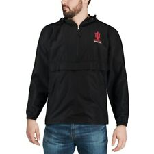 Champion Indiana Hoosiers Black Packable Jacket