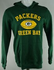 Green Bay Packers NFL Team Apparel Youth Green Pullover Hoodie