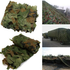 Woodland Camouflage Netting Military Army Hunting Shooting Hide Cover Net