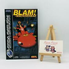 Blam Machinehead PAL Sega Saturn Boxed
