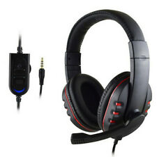 Universal 3.5MM Plug Wired Gaming Headphones For PS4 Computer Mobile Phone