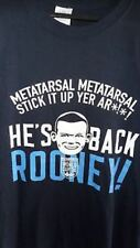 Wayne Rooney Funny England  World Cup T Shirt Red/Blue M/L/XL/XXL