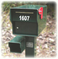 """Fortress Locking High Security Rural Mailbox 98 Pounds! FORT KNOX MAILBOX """"TANK"""""""
