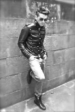 EMO Leather PARADE MY CHEMICAL ROMANCE MILITARY JACKET