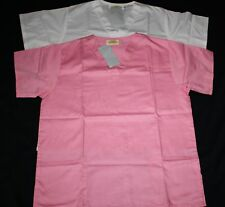 SOLID COLOR V-NECK SCRUB TOP ONLY  (FINAL SALE!) NWT!!!