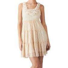Yumi Womans Marlana Lace Tiered Mini Dress (All Sizes)