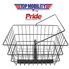 PRIDE MOBILITY SCOOTER REAR BASKET W/ CENTER SUPPORT