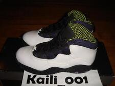 Girls Nike Air Jordan 10 Retro (PS) X Size 1Y Youth OG Vintage 487212-120 A