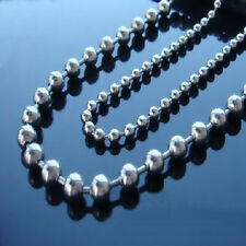 "20""-36"" Stainless Steel Ball Chain 2.0-3.2mm width Bead"