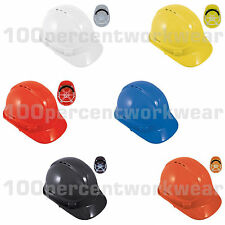 Baratec Safety PPE Hard Hat Helmet Builders Construction Site Head Protection