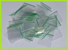 Small Clear Polythene Plastic Grip Seal Resealable Bags