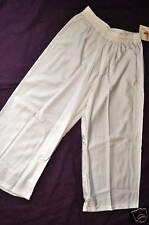 Nwt Bal Togs adult size small or medium- white nylon-lycra crop pants item #8707