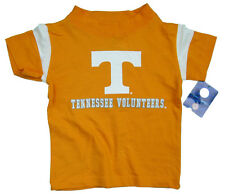 TENNESSEE VOLUNTEERS KIDS TODDLERS ORANGE W/ WHITE SHOULDER STRIPES T-SHIRT NWT