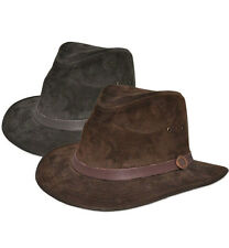 Eureka Fedora Indiana Jones Pigskin Leather Hat