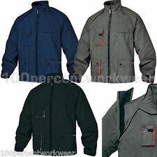 Delta Plus Panoply Work MACH2 Northwood Padded Mens Jacket Coat Removable Sleeve