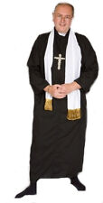 Religious VICAR/Priest with cross Fancy Dress Costume ALL MALE SIZES UP TO XXXXL