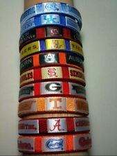 NCAA COLLEGE FAN BAND BRACELET ~ Choose Your Team!  Flat Shipping!