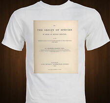 """Origin of Species"" Charles Darwin evolution science T-shirt"