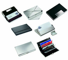 Personalised Business Card Holders .  Gifts For Him & Her In Various Designs