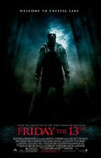 FRIDAY THE 13TH Remake Movie Poster Horror Jason