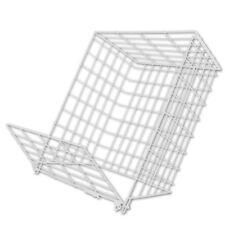 Letter Post Catching Wire Cage Pet Dog Safe To Suit Back Of Door Lift Up Top