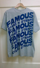 Famous Stars and Straps Tee shirts