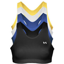 UNDER ARMOUR High Control Racer Back Sport Bra Black/Blue/White XS S M L XL XXL