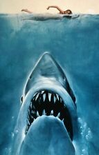 JAWS Movie Poster SPEILBERG Great White