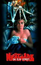 A NIGHTMARE ON ELM STREET Movie Poster Horror Freddy Krueger Slasher