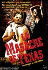 THE TEXAS CHAINSAW MASSACRE Movie Poster Horror Leatherface
