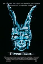 DONNIE DARKO Movie Poster Cult Classic Time Travel Frank the Bunny Art