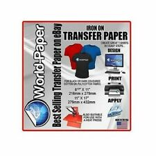 Inkjet Dark Transfer Paper Heat Press DIY T-shirt Printing