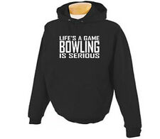 Bowling Life's A Game Bowl Bowlers Adult Hoodie